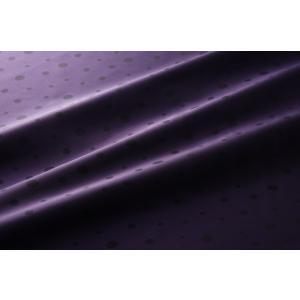 【メール便送料無料】9302(カラー81パープル)水玉柄高級ジャガード裏地(高密度,キュプラ100%,ふじやま織)【宅配便480円】|ttp
