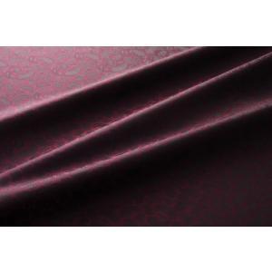 メール便送料無料 9303 カラー61ワインレッド ペズリー柄高級ジャガード裏地 高密度,キュプラ100%,ふじやま織 宅配便480円|ttp