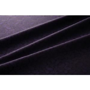 メール便送料無料 9303 カラー80ダークパープル ペズリー柄高級ジャガード裏地 高密度,キュプラ100%,ふじやま織 宅配便480円|ttp