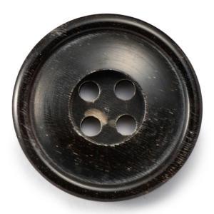 メール便送料無料 水牛ボタンブラントK-1094 COLOR.BLK 20mm紳士服スーツジャケットの前ボタン 老舗テーラー御用達スーツボタン専門店の高級ボタン|ttp