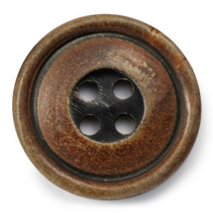 メール便送料無料 水牛ボタンブラントK-1094 COLOR.BRN 20mm紳士服スーツジャケットの前ボタン 老舗テーラー御用達スーツボタン専門店の高級ボタン|ttp
