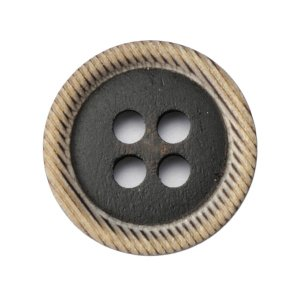 メール便送料無料 水牛ボタンブラントK-1176 COLOR.BLK 15mm紳士服スーツジャケットの袖口・袖ボタン 老舗テーラー御用達スーツボタン専門店の高級ボタン|ttp