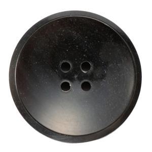 メール便送料無料 水牛ボタンブラントK-1193 COLOR.BLKブラック 20mm紳士服スーツジャケットの前ボタン  スーツボタン専門店|ttp