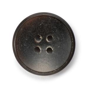 メール便送料無料 水牛ボタンブラントK-1193 COLOR.BLKブラック 15mm紳士服スーツジャケットの袖口・袖ボタン  スーツボタン専門店|ttp