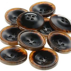 PV15 20mm (color.466ブラウン) コート対応ボタン老舗テーラー御用達スーツボタン専門店の高級ボタン|ttp