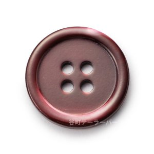 [メール便送料無料]17型高瀬貝ボタン染色15mmHK17T(color.1ワイン) ttp