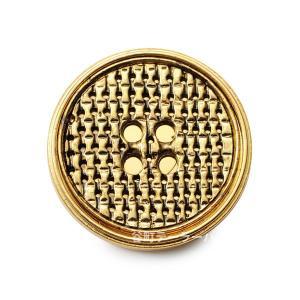 【メール便送料無料】メタルボタンM-15・ゴールド・15mm紳士服スーツジャケット袖口・袖ボタン【ゆうメールのみ送料無料・宅配便480円加算】|ttp