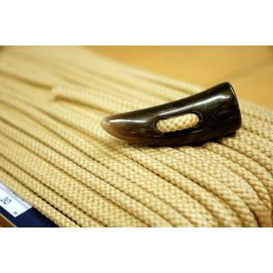トグルボタン用ひも ベージュ色(コート用水牛トグルボタンの紐)10cm単位 ダッフルコート用紐(ヒモのみボタン別売)|ttp