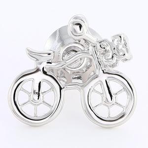 【メール便送料無料】ラペルピン・自転車シルバー・【限定品】メンズ・レディースに使えるアクセサリー【メール便選択のみ送料無料・宅配便は480円加算】|ttp