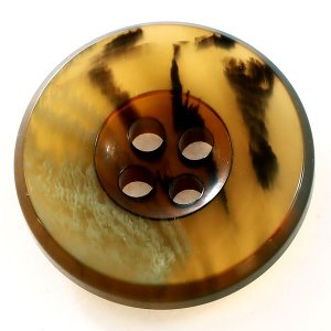 ボーデ COLOR.41ライトブラウン系  15mm 1個から販売  紳士服スーツジャケットの袖口ボタン・袖ボタン|ttp