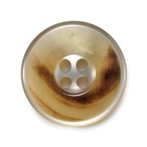 メール便送料無料 水牛カイザー COLOR.02  15mm 紳士服スーツジャケットの袖口・袖ボタン|ttp