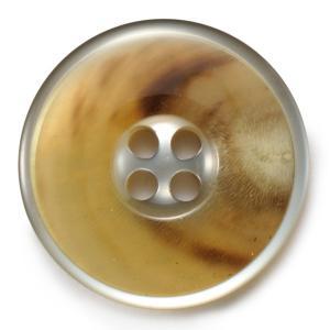 メール便送料無料 水牛カイザー COLOR.02  20mmスーツジャケット高級水牛ボタン|ttp