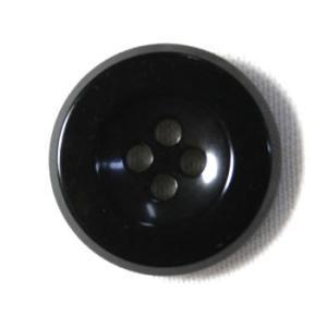 【メール便送料無料】303イタリーボタン(COLOR.1)黒 15mm|ttp