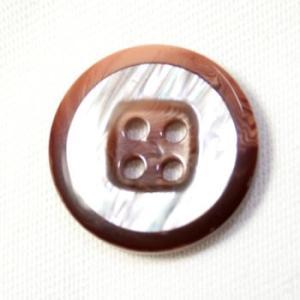 【メール便送料無料】Camel(COLOR.8) 15mm 紳士服スーツジャケットの袖口・袖ボタンに|ttp