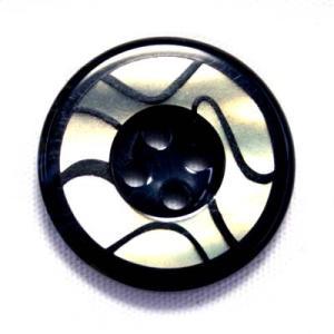 【メール便送料無料】BANFF(バンフ) 15mm COLOR.1 紳士服スーツジャケットの袖口・袖ボタンに|ttp