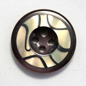 【メール便送料無料】BANFF(バンフ) 15mm COLOR.7 紳士服スーツジャケットの袖口・袖ボタンに|ttp