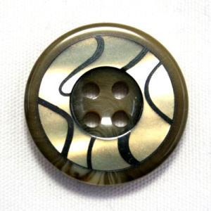 【メール便送料無料】BANFF(バンフ) 15mm COLOR.8 紳士服スーツジャケットの袖口・袖ボタンに|ttp