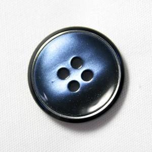 【メール便送料無料】高級スーツジャケット用ボタン サンダー 20mm color.55(ブルー)|ttp