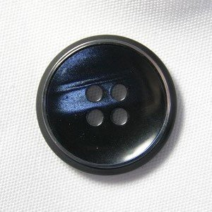 【メール便送料無料】高級スーツジャケット用ボタン サンダー 20mm color.58(ネイビー)|ttp