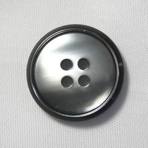 【メール便送料無料】サンダー 15mm color.04(シルバー) 紳士服スーツジャケットの袖口・袖ボタンに|ttp