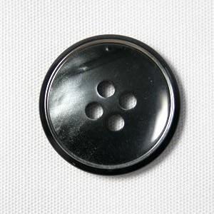 【メール便送料無料】高級スーツジャケット用ボタンサンダー 15mm color.07(チャコール) 紳士服スーツジャケットの袖口・袖ボタンに|ttp