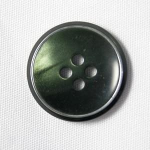 【メール便送料無料】サンダー 15mm color.65(グリーン) 紳士服スーツジャケットの袖口・袖ボタンに|ttp