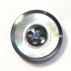 メール便送料無料 高級スーツジャケット用ボタン  H-4マザー color.14  21mm貝ボタン 20mmや21mm スーツの前ボタンの取替えに ttp