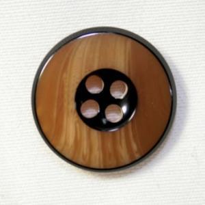 【メール便送料無料】818(COLOR.43) 15mm 紳士服スーツジャケットの袖口・袖ボタンに|ttp