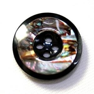 【メール便送料無料】高級スーツジャケット用ボタン H-4メキシコ(color.80) 21mm貝ボタン(20mmや21mmボタンの取替えに)|ttp