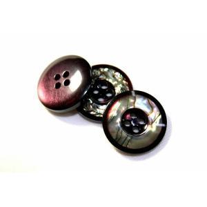 【メール便送料無料】高級スーツジャケット用ボタン H-4メキシコ(color.27) 17mm紳士服スーツジャケットの袖口・袖ボタンに|ttp|02