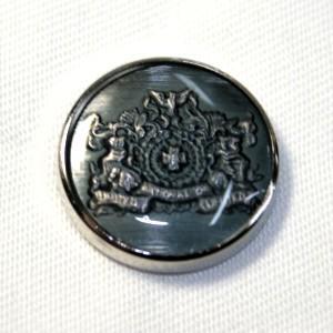 メール便送料無料 メタルボタンDM-0823・シルバー・15mm 紳士服スーツジャケットの袖口・袖ボタン老舗テーラー御用達スーツボタン専門店の高級ボタン|ttp