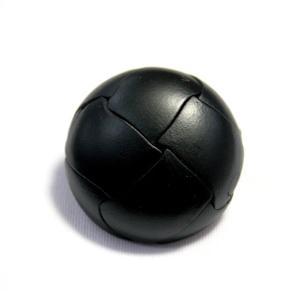 本革ボタンLZ100 30mm (color.05ブラック) コート対応ボタン(実寸は29mm)レザーボタン,皮ボタン ttp