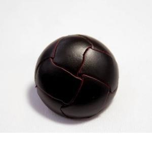 本革ボタンLZ100 25mm (color.04ダークブラウン) コート対応ボタン レザーボタン,皮ボタン老舗テーラー御用達スーツボタン専門店 ttp