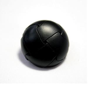本革ボタンLZ100 25mm (color.05ブラック) コート対応ボタン レザーボタン,皮ボタン老舗テーラー御用達スーツボタン専門店 ttp