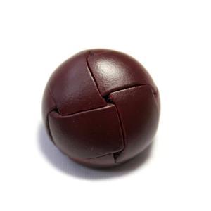 本革ボタンLZ100 23mm (color.03ブラウン) コート対応ボタン レザーボタン,皮ボタン老舗テーラー御用達スーツボタン専門店 ttp