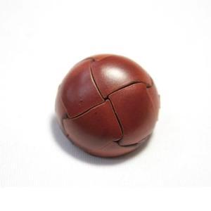 本革ボタンLZ100 21mm (color.01ライトブラウン) コート対応ボタン レザーボタン,皮ボタン老舗テーラー御用達スーツボタン専門店 ttp