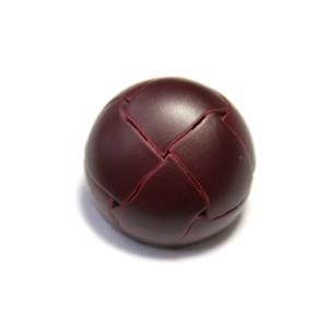 本革ボタンLZ100 21mm (color.03ブラウン) コート対応ボタン レザーボタン,皮ボタン老舗テーラー御用達スーツボタン専門店 ttp