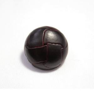 本革ボタンLZ100 19mm(color.04ダークブラウン) コート対応ボタン レザーボタン,皮ボタン老舗テーラー御用達スーツボタン専門店 ttp