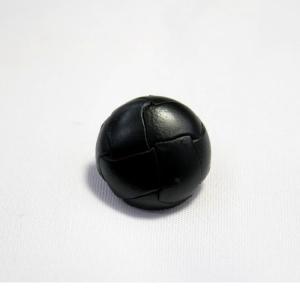 本革ボタンLZ100 19mm(color.05ブラック) コート対応ボタン レザーボタン,皮ボタン老舗テーラー御用達スーツボタン専門店 ttp