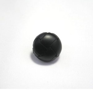 本革ボタンLZ100 15mm(color.05ブラック) コート対応ボタン,スーツ袖ボタン,レザーボタン,皮ボタン ttp