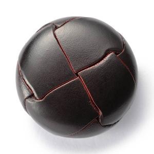 本革ボタンLZ200 30mm (color.04ダークブラウン) コート対応ボタン(実寸は29mm)レザーボタン,皮ボタン|ttp