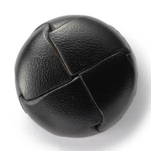 本革ボタンLZ200 30mm (color.05ブラック) コート対応ボタン(実寸は29mm)レザーボタン,皮ボタン|ttp