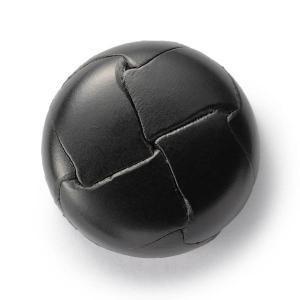 本革ボタンLZ200 25mm (color.05ブラック) コート対応ボタン レザーボタン,皮ボタン老舗テーラー御用達スーツボタン専門店|ttp