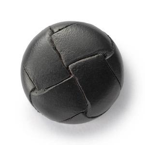 本革ボタンLZ200 23mm (color.05ブラック) コート対応ボタン レザーボタン,皮ボタン老舗テーラー御用達スーツボタン専門店|ttp