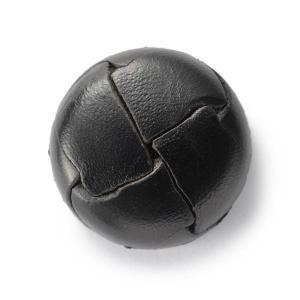 本革ボタンLZ200 21mm (color.05ブラック) コート対応ボタン レザーボタン,皮ボタン老舗テーラー御用達スーツボタン専門店|ttp