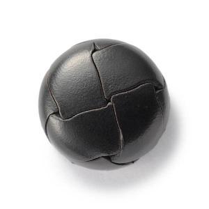 本革ボタンLZ200 19mm(color.05ブラック) コート対応ボタン レザーボタン,皮ボタン老舗テーラー御用達スーツボタン専門店|ttp