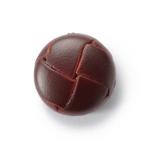 本革ボタンLZ200 15mm(color.03ブラウン) コート対応ボタン,スーツ袖ボタン,レザーボタン,皮ボタン|ttp
