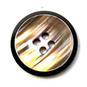 メール便送料無料 9070 OR- オーロラ2  15mm COLOR.45  実寸16mm 紳士服スーツジャケット袖口・袖ボタン ttp