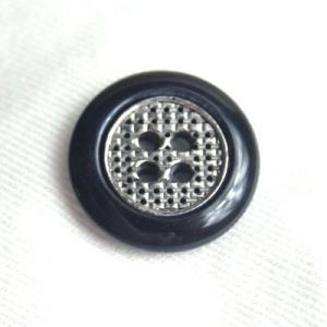 【メール便送料無料】リンクス(COLOR.ネイビー・シルバー) 20mm高級スーツジャケット用ボタン|ttp