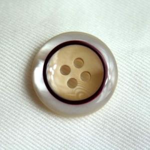 メール便可 エレガント COLOR.21  15mm紳士服スーツジャケットの袖口・袖ボタンに ttp